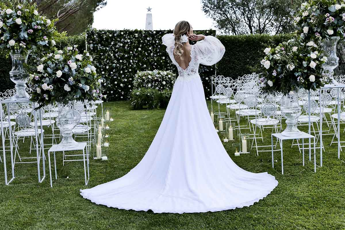 Maison sposa dallo stile sartoriale La Vie En Blanc Roma | Life&People Magazine LifeandPeople.it