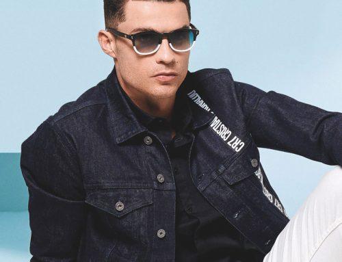 Cristiano Ronaldo lancia i nuovi occhiali CR7