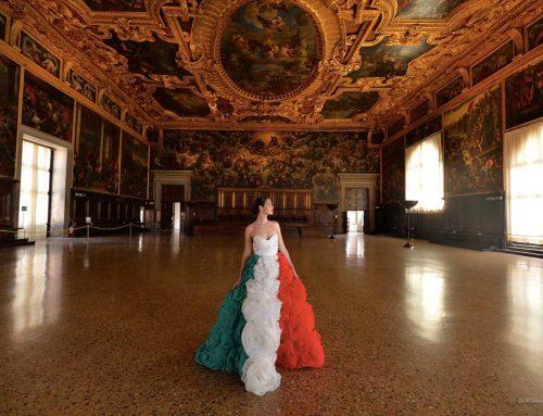 """Eleonora Lastrucci: """"L'Italia riparte da Venezia con i miei abiti"""""""