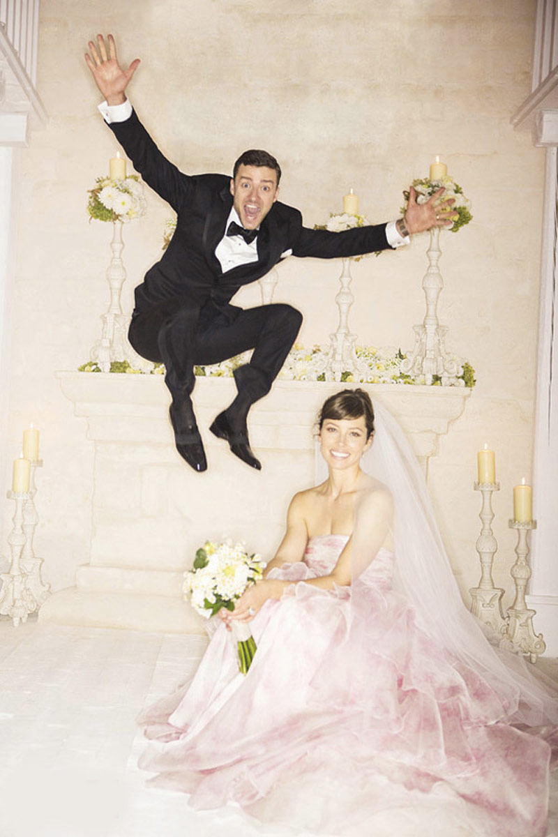 abiti da sposa vip Jessica Biel Life&People Magazine LifeandPeople.it