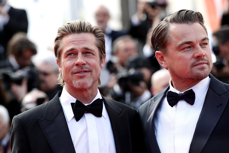 Brad Pitt attore e Leonardo DiCaprio