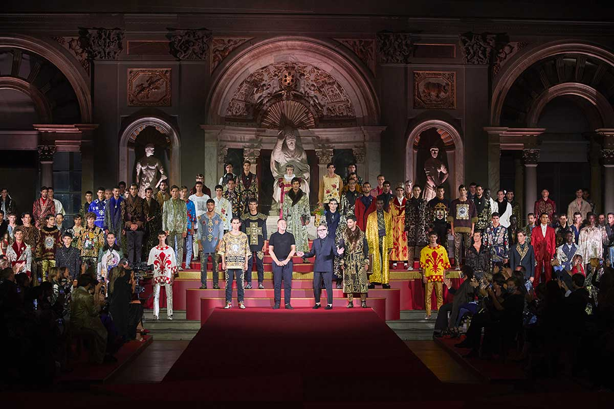 Dolce e Gabbana sfilata a Firenze Life&People Magazine LifeandPeople.it