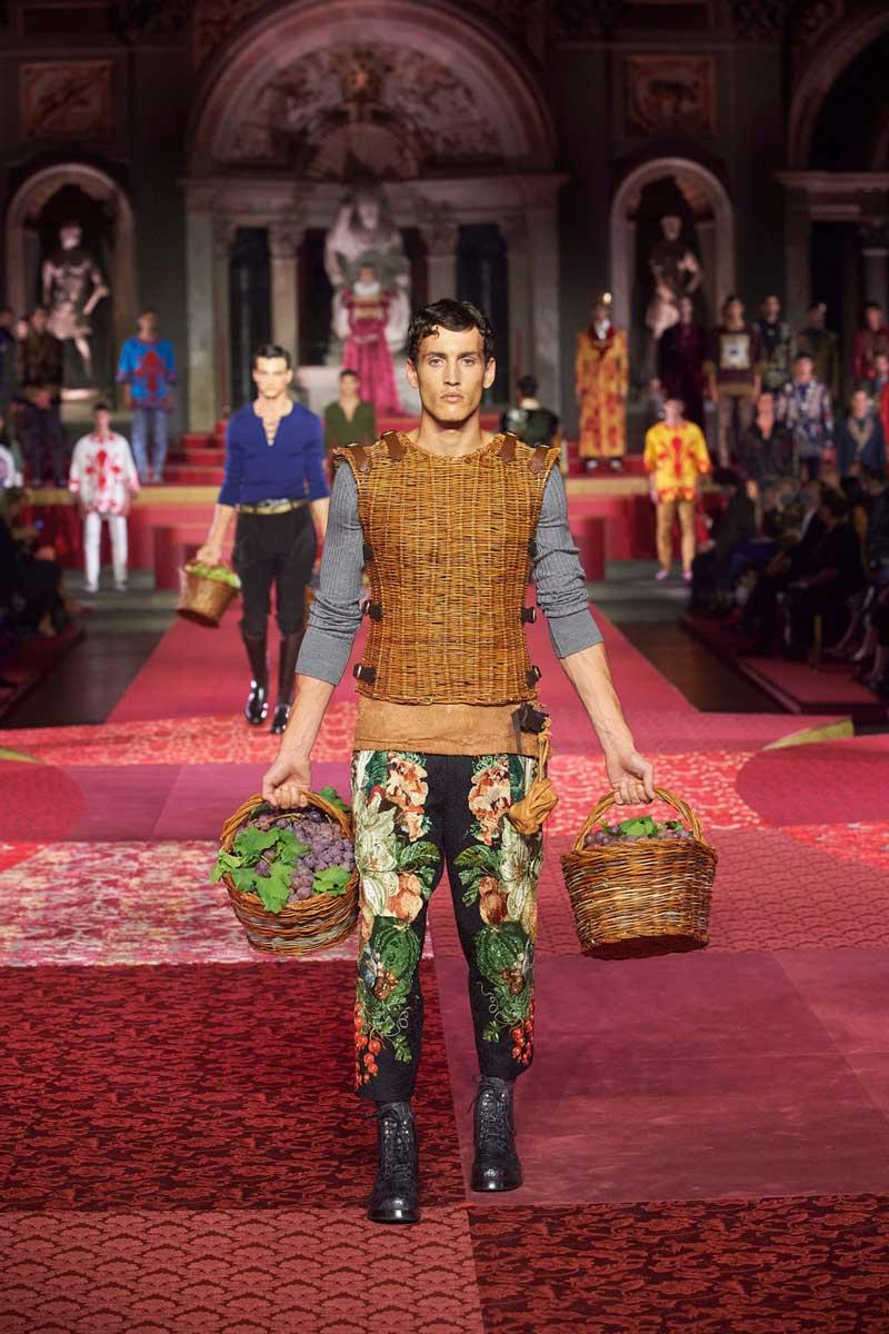 Dolce e Gabbana sfilata a Firenze sett 2020 Life&People Magazine LifeandPeople.it
