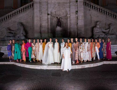 Laura Biagiotti: sfila in Campidoglio la Roman Renaissance