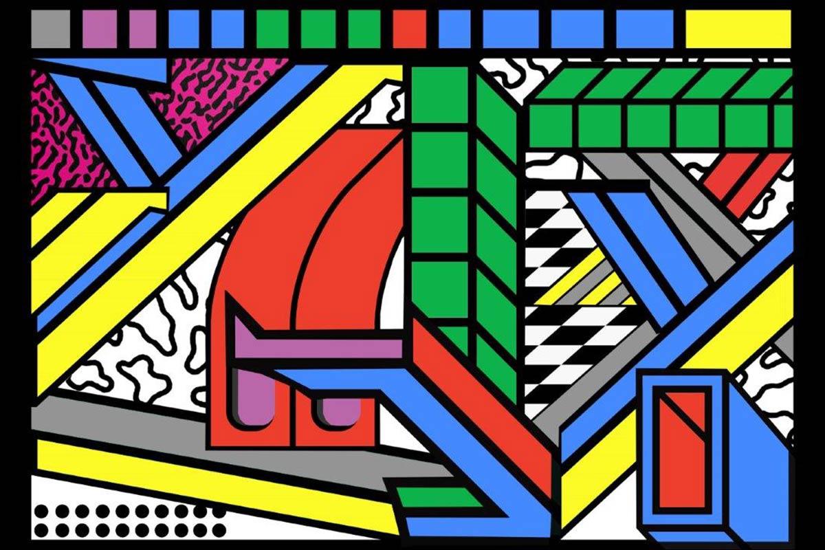 Pattern Living in Memphis di Margherita Aletti - mostra design Marangoni a City Milano Life&People Magazine lifeandpeople.it