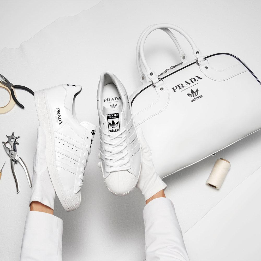 adidas sneakers for Prada Life&People Magazine LifeandPeople.it