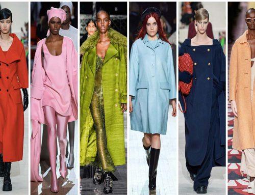 I cappotti colorati: i must have per l'autunno