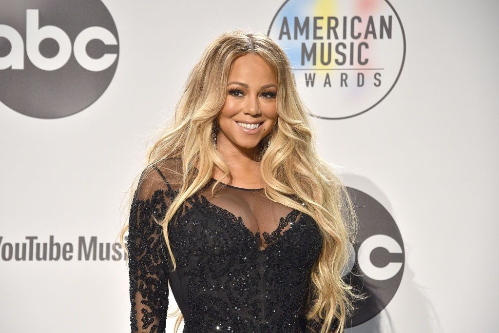 Mariah Carey agli American Music Awards