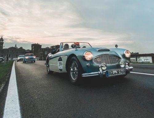 1000 miglia: il fascino delle auto d'epoca