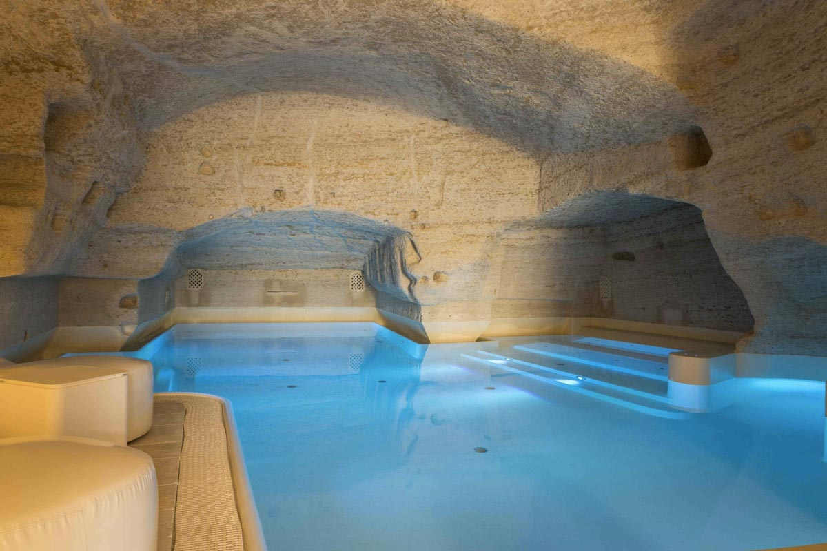 dove rilassarsi in italia Aquatio Cave Luxury Hotel Spa Matera Life & People Magazine LifeandPeople.it