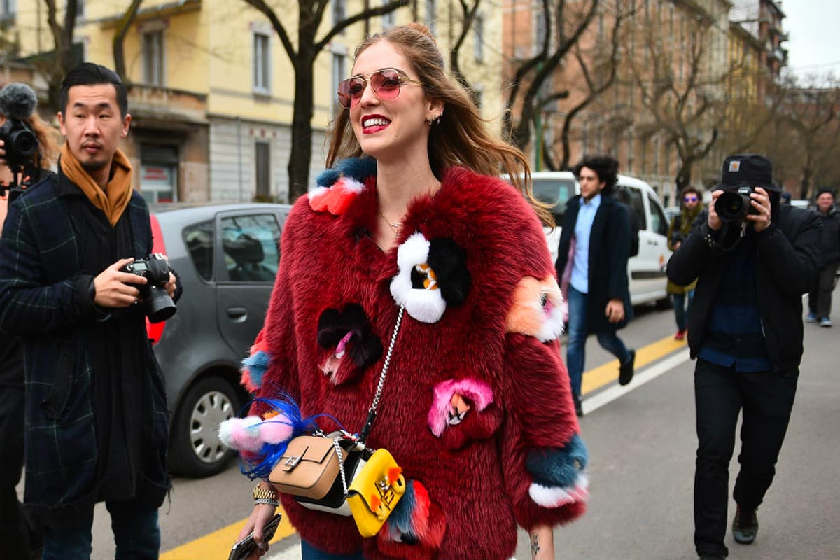 I look più fashion di Chiara Ferragni Life&People Magazine LifeandPeople.it