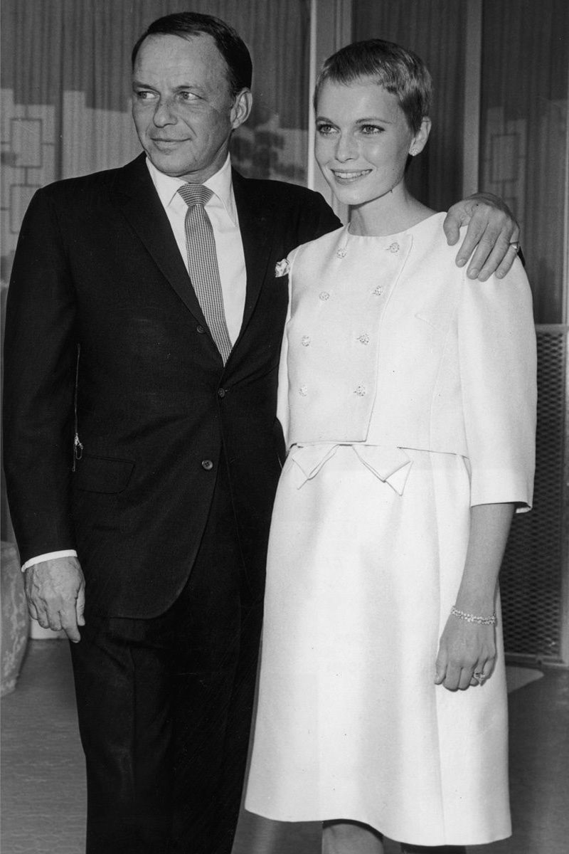 Mia Farrow e Frank Sinatra Life&People Magazine LifeandPeople.it