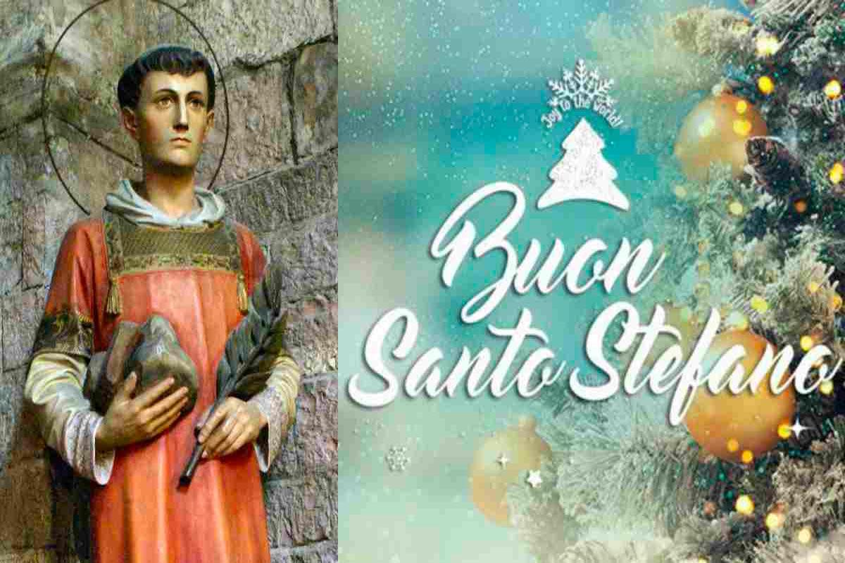 Chi era Santo Stefano storia e tradizioni Life&People Magazine LifeandPeople.it