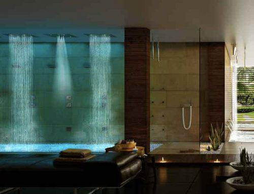 Rituali di benessere con le docce emozionali