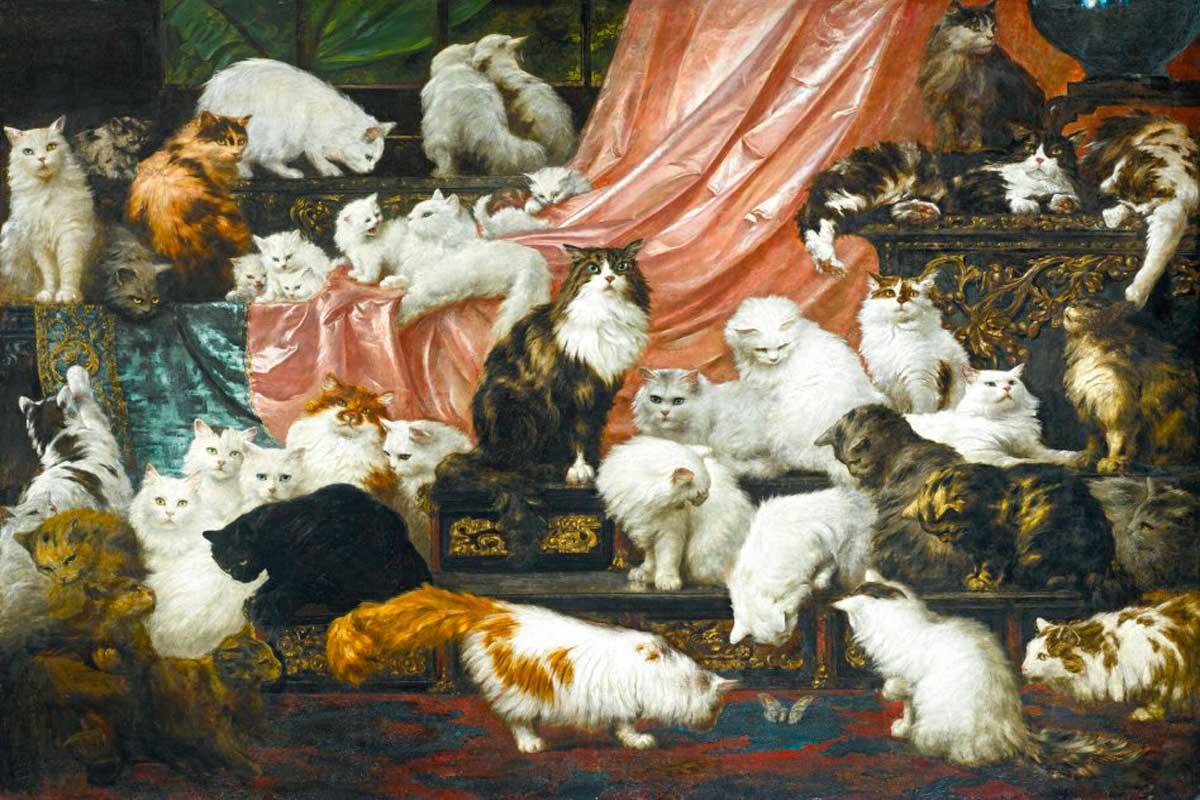 gatti nell'arte Life&people Magazine LifeandPeople.it