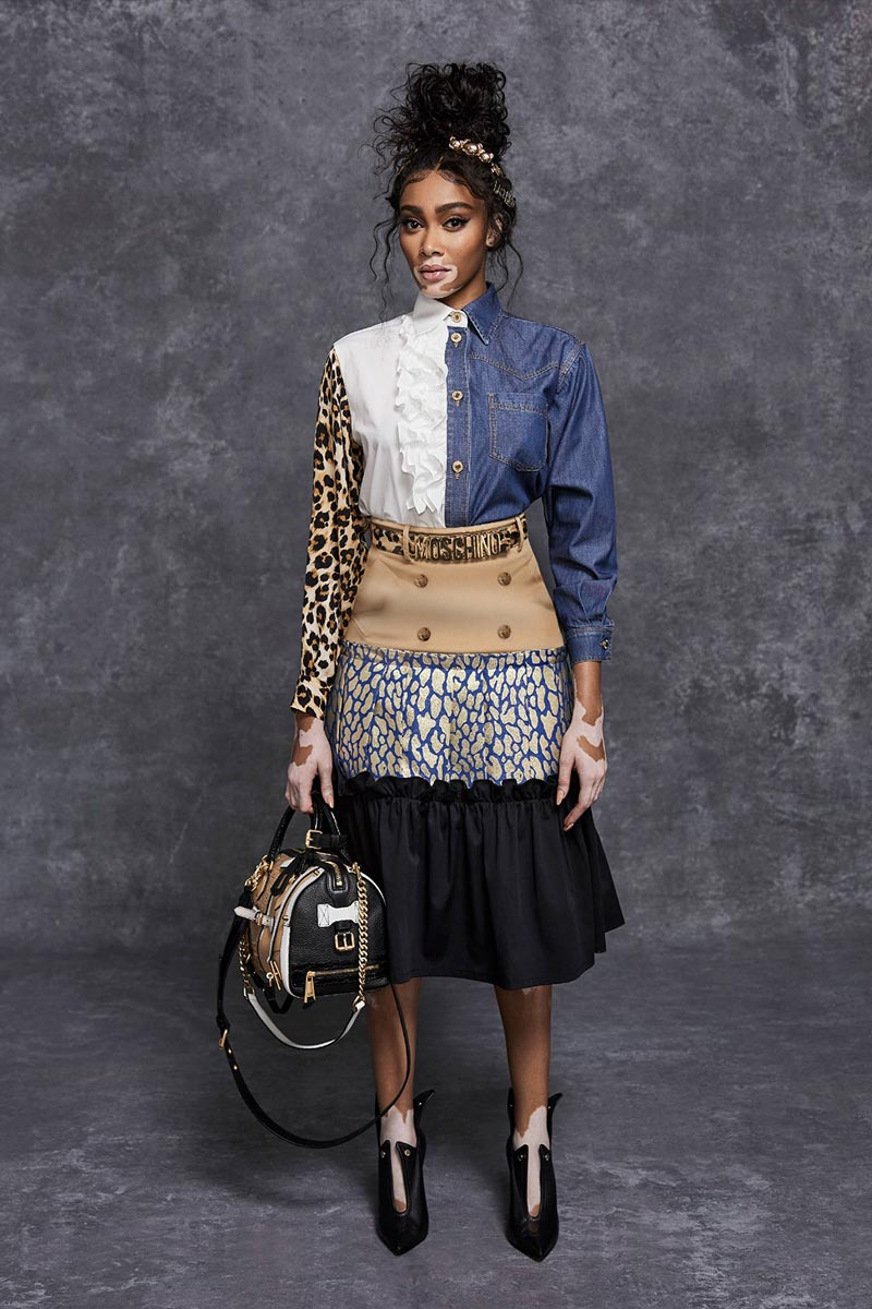 Moschino pre fall 2021 Life&People Magazine LifeandPeople.it