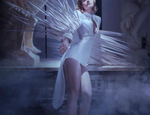 """Farhad Re e la sua """"Galatea"""" alla Paris Haute Couture"""