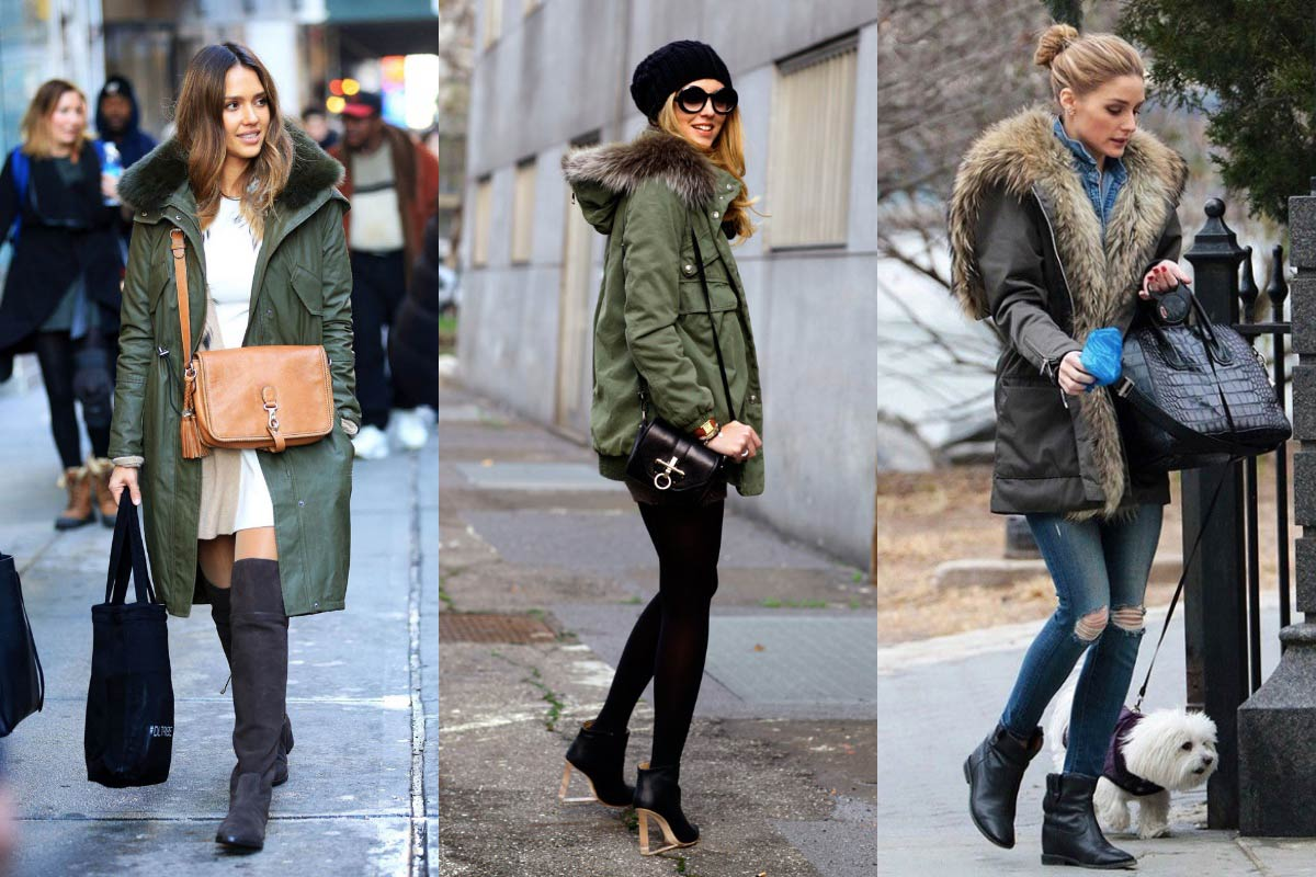 Parka celebrities come indossarlo Life&People Magazine LifeandPeople.it