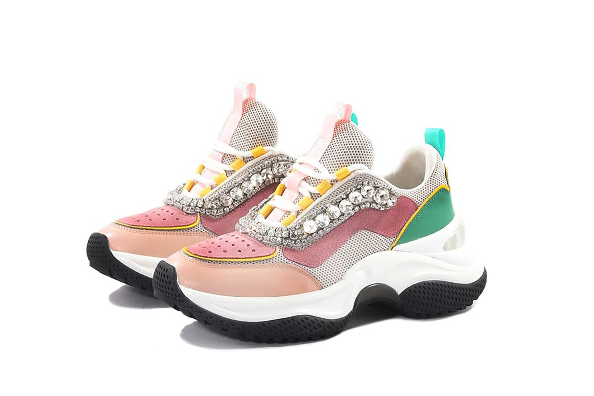 Sneakers gioiello tendenza primavera 2021 Life&People Magazine LifeandPeople.it