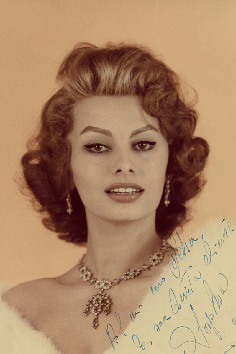 Sophia Loren ed Emilio Schuberth | Life&People Magazine LifeandPeople.it