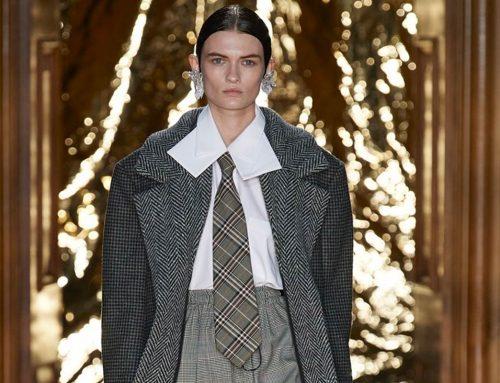 Cravatte donna i modelli più cool per l'autunno/inverno