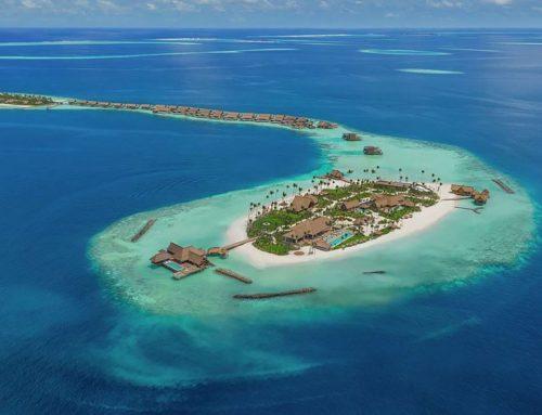 Un paradiso in terra: l'isola di lusso da affittare alle Maldive