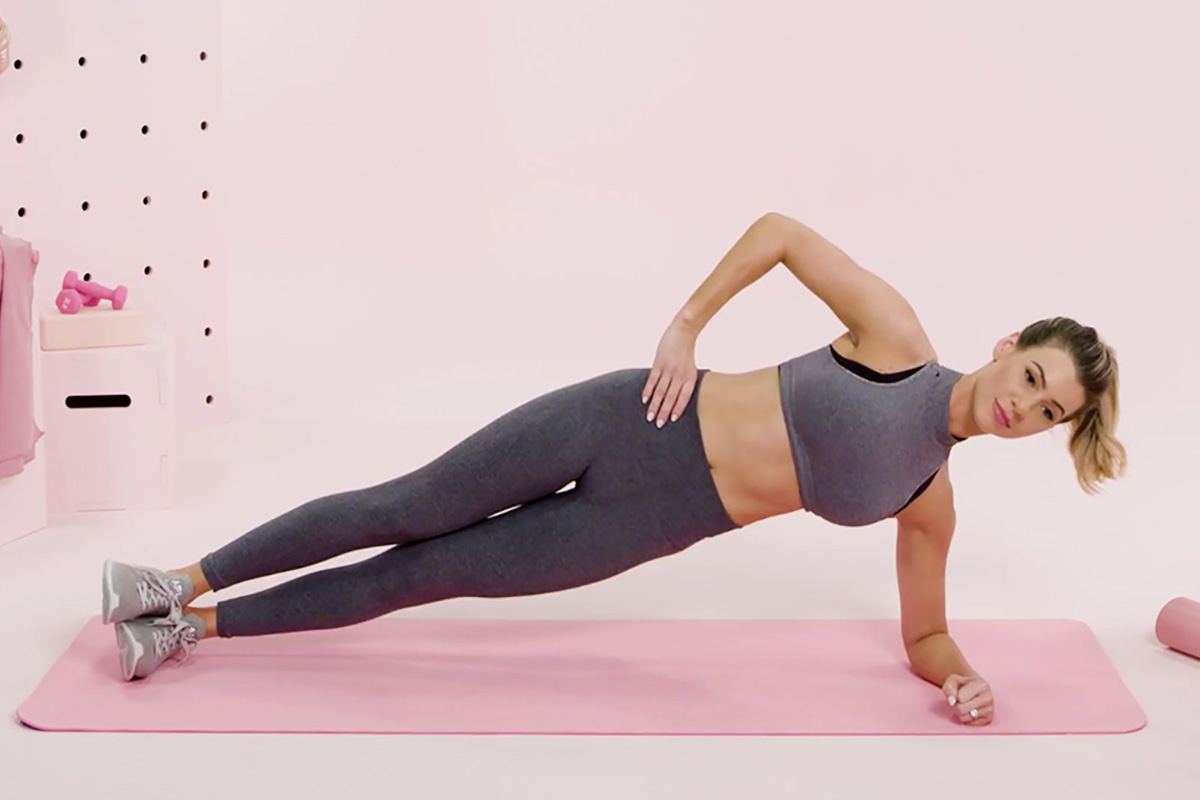 esercizio side plank Life&People Magazine LifeandPeople.it