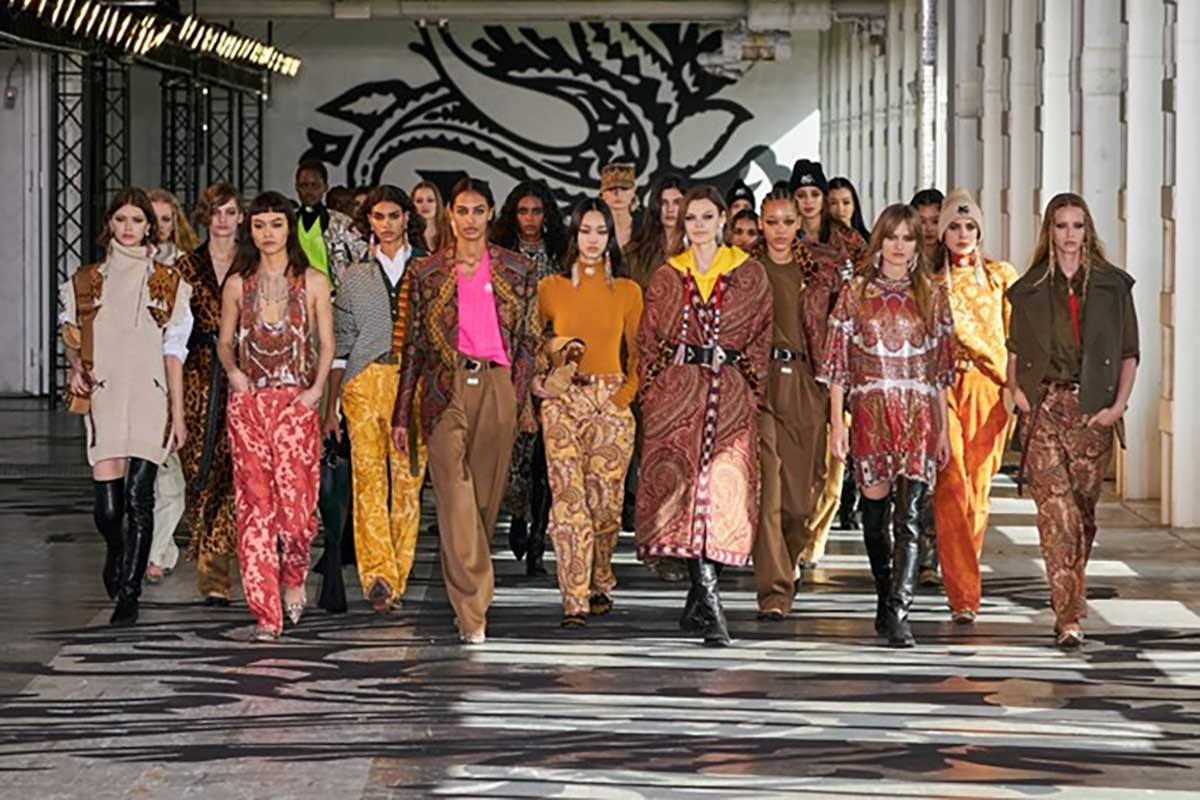 passerella finale Etro Life&People Magazine LifeandPeople.it