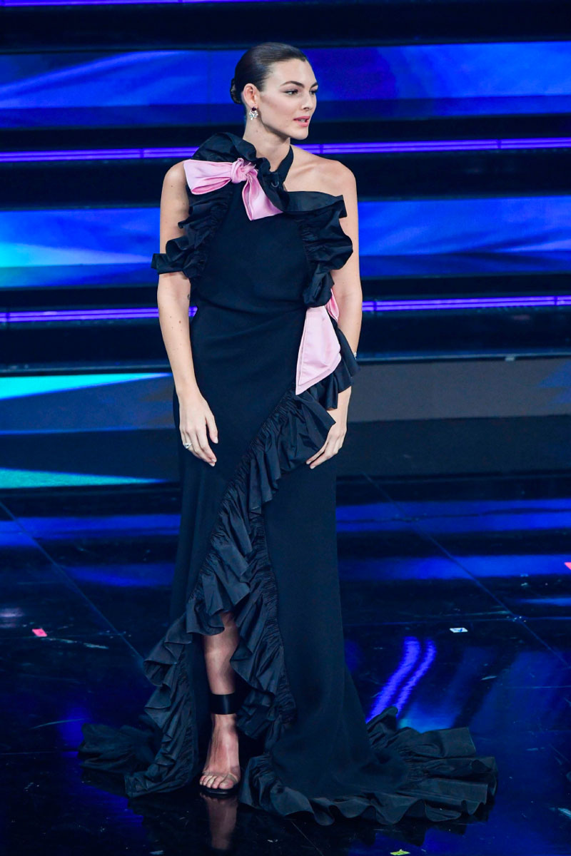 Vittoria Ceretti Sanremo 2021 look terza serata Life&People Magazine LifeandPeople.it