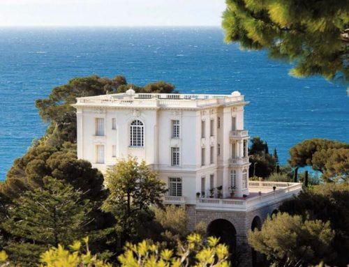 La roccaforte da sogno di Karl Lagerfeld: Villa La Vigie