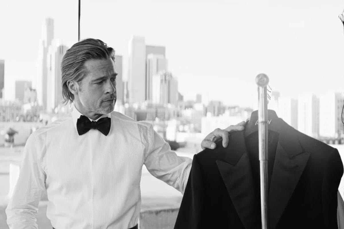 Brad Pitt Brioni Life&People Magazine LifeandPeople.it