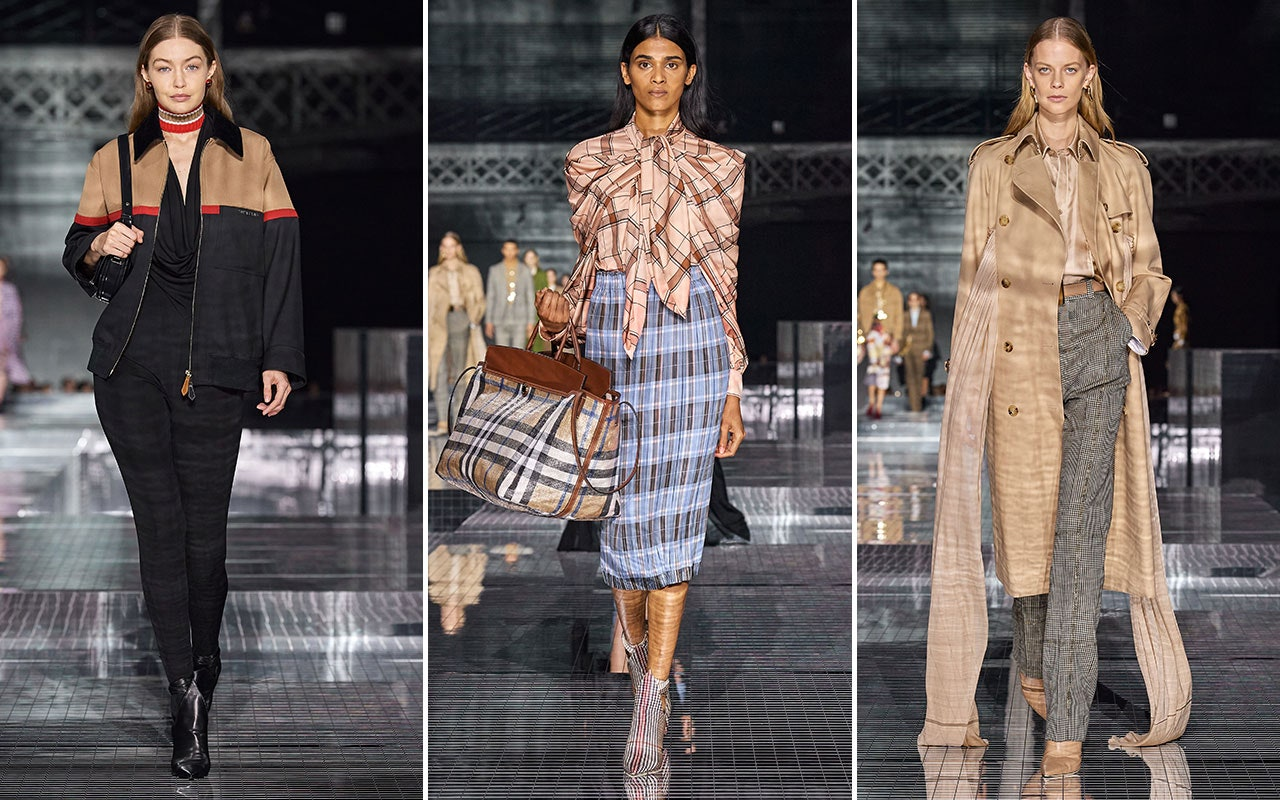 Burberry autunno inverno 2020 2021 Life&People Magazine LifeandPeople.it