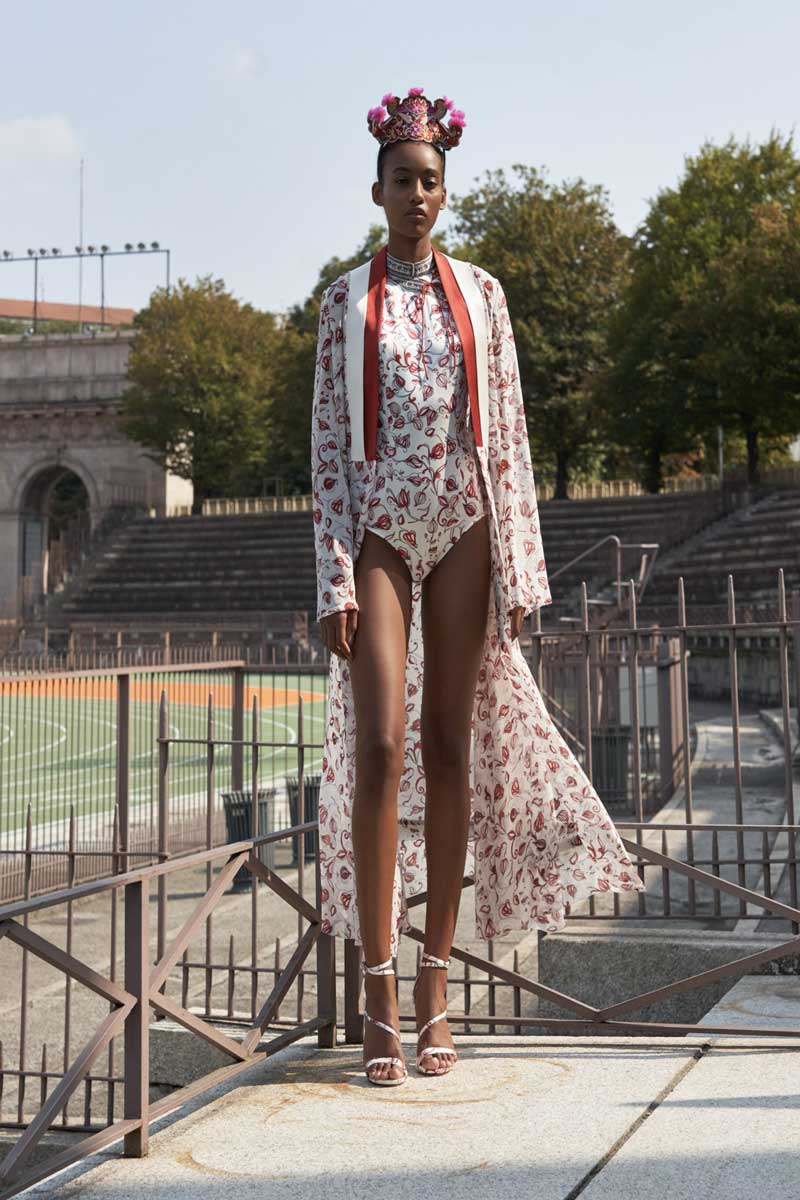 HUI Blooming Couture spring summer 2021 | Life&People Magazine LifeandPeople.it