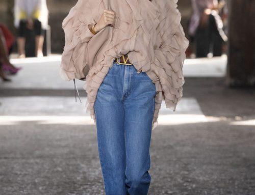 Alla riscoperta del vintage anni settanta con i jeans Levi's Valentino