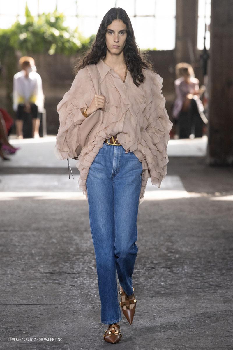 jeans Levis Valentino Life&People Magazine LifeandPeople.it