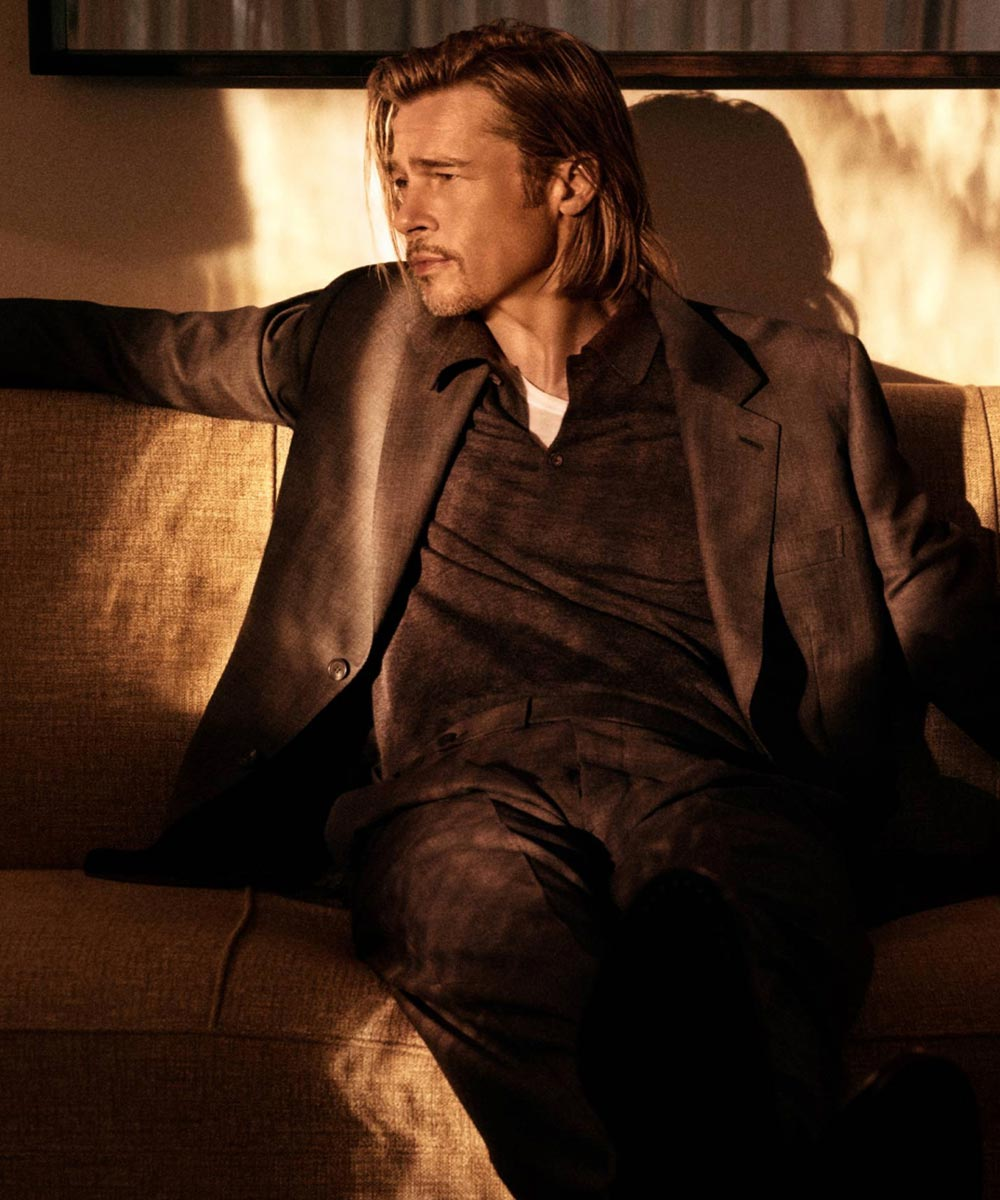 Brad Pitt per Brioni 2021 Life&People Magazine LifeandPeople.it