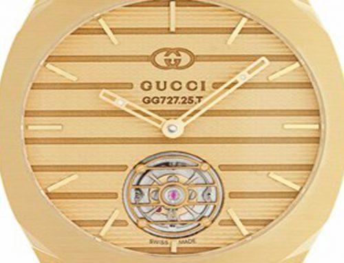 Il debutto di Gucci nell'haute horlogerie