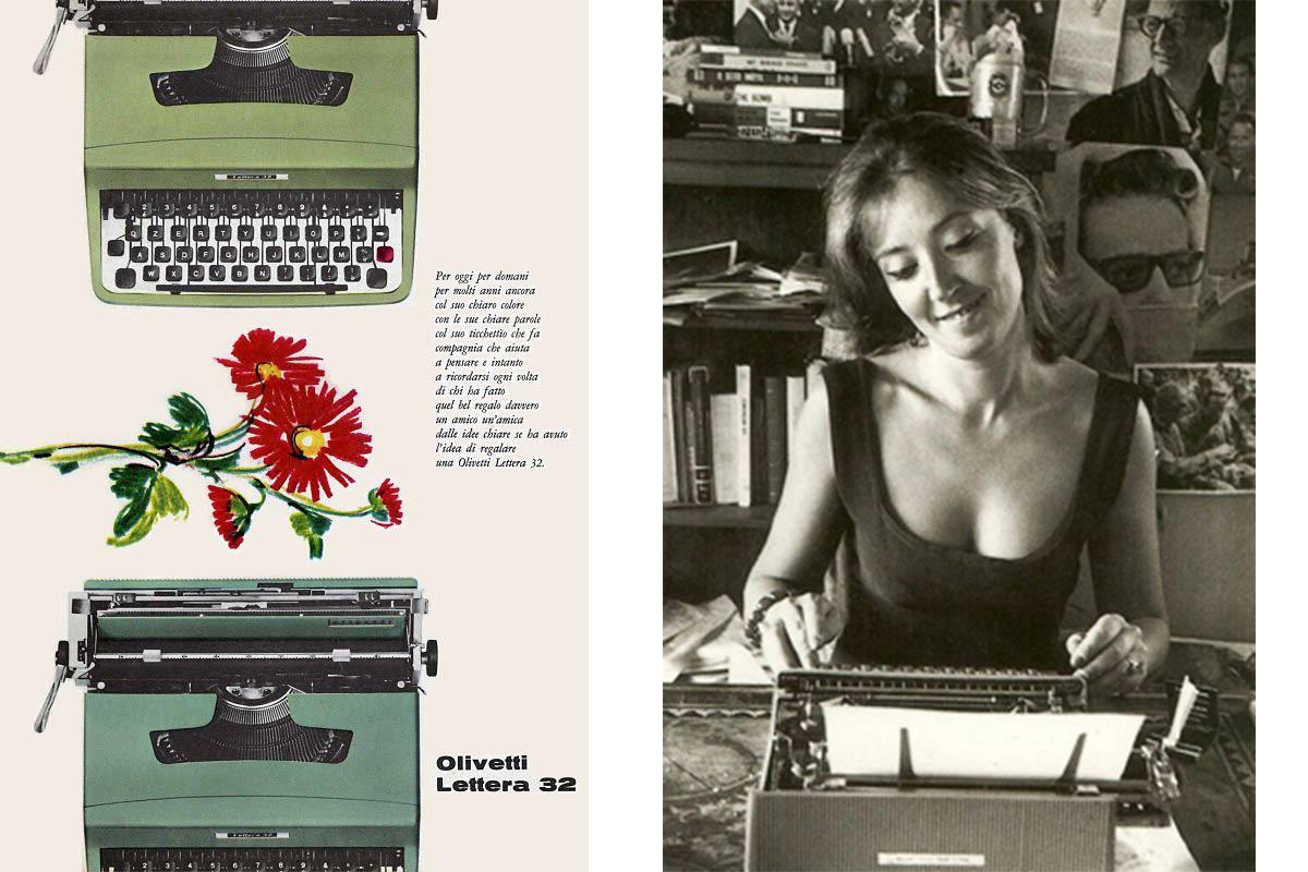 modelli macchine da scrivere olivetti Life&People Magazine LifeandPeople.it