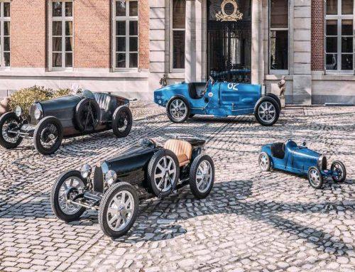Bugatti vettura giocattolo: iniziano le consegne