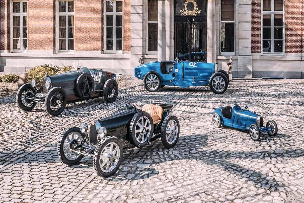 Bugatti vettura giocattolo Life&People Magazine LifeandPeople.it