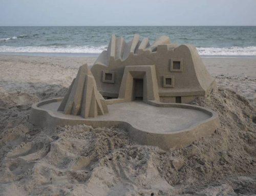 L'architettura dei castelli di sabbia futuristici di Calvin Seibert