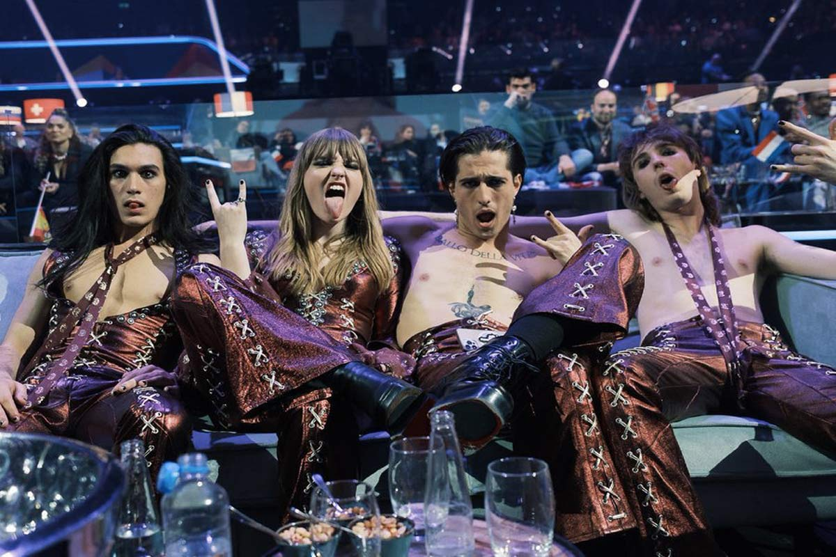 Maneskin Eurovision Song Contest 2021 LIFE&PEOPLE MAGAZINE LIFEANDPEOPLE.IT