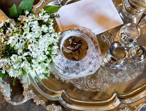 Tea party per un matrimonio da favola
