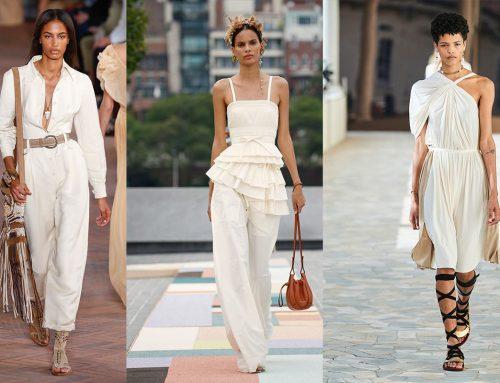 Abbigliamento total white: il più amato per l'estate