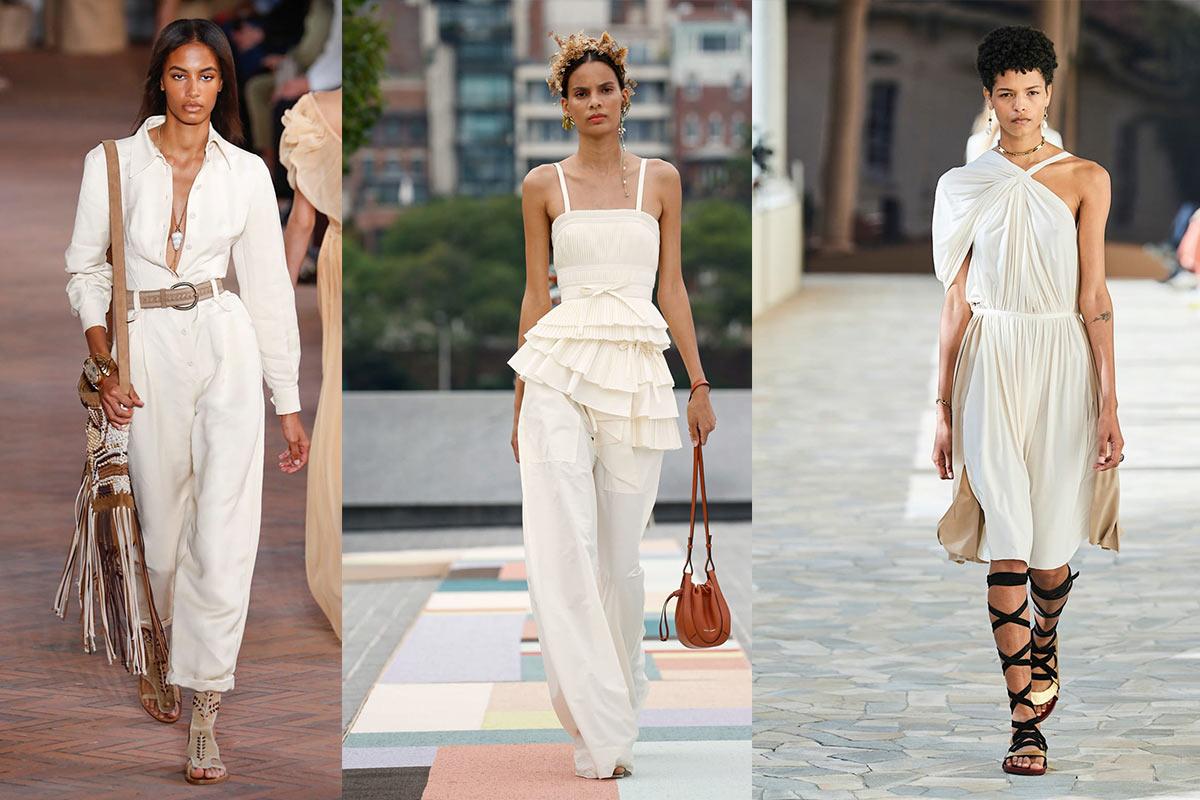 abbigliamento total white estate Life&People Magazine LifeandPeople.it