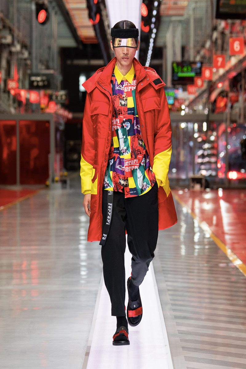 Ferrari debutto moda fashion show a Maranello Life&People Magazine LifeandPeople.it