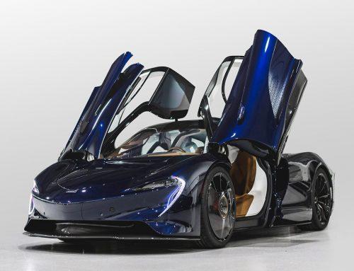 Hermès e McLaren si uniscono per il design della Speedtail
