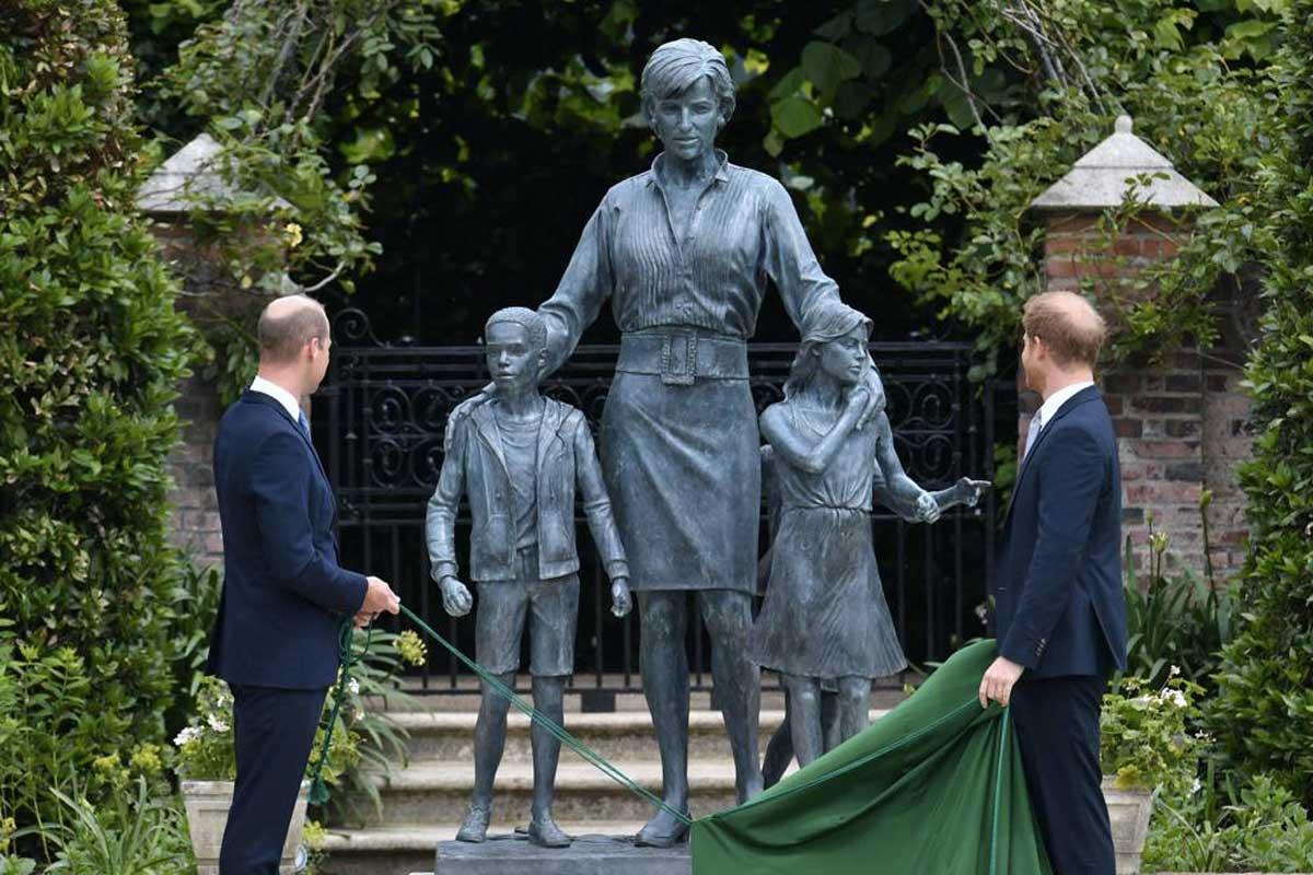 inaugurazione statua Lady Diana Life&People Magazine LifeandPeople.it