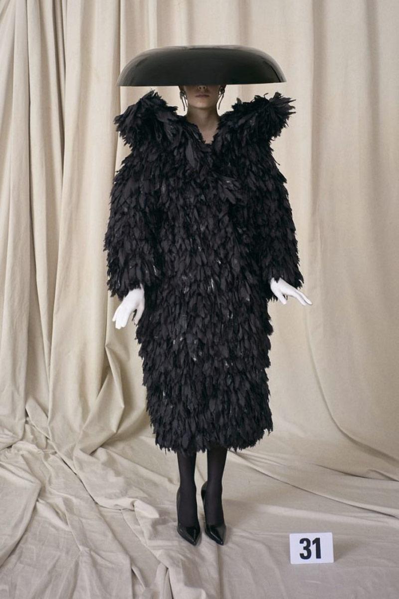 Balenciaga haute couture autunno inverno 2021 2022 Life&People Magazine LifeandPeople.it