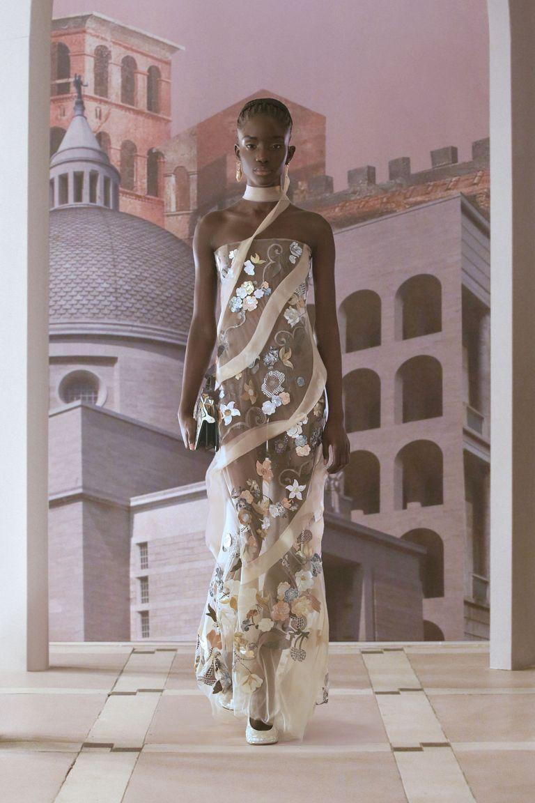 Fendi Haute Couture Autunno Inverno 2021 2022 Life&People Magazine LifeandPeople.it
